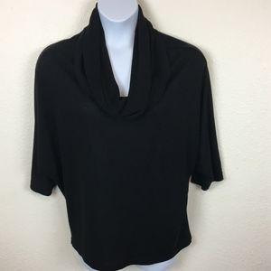 Olivia Moon Cowl Neck Dolman Sleeve Light Sweater